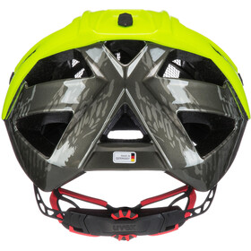 UVEX Quatro Helmet dirt neon yellow